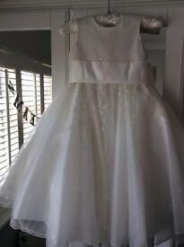 Pearce Fionda Ivory Bridesmaid dress age 2