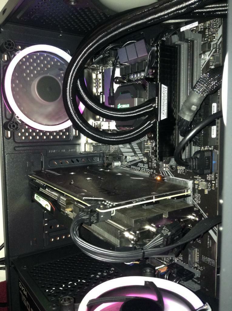 Gaming PC, i5 - 9600K, 16GB DDR4 , RTX 2060   in Aspley, Nottinghamshire    Gumtree