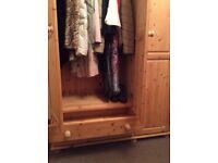 Pine wardrobes