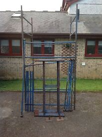 Scaffold tower 4ft square