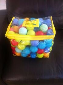 Bag of Multi-Coloured Play Balls