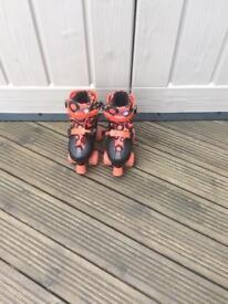 Adjustable roller skates size 13-3 make zinc