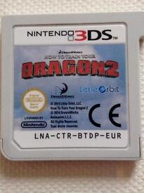Nintendo 3ds HTT YOUR DRAGON 2 *FREE P&P*