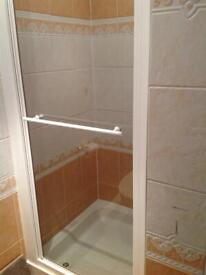 Infold Shower Door