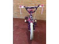 "16"" Annabelle Girls Bike. 5-7years"