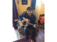 Fun and friendly guitar tuition for £10 per hour
