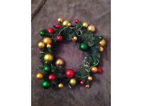 Christmas Wreath excellent condition