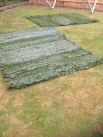 2 x Garden screens-Artificial Topiary Boxwood Greenset 367
