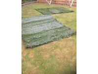 2 x Garden screens-Artificial Topiary Boxwood Greenset 367