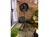 Calumet turbo wind tunnel fan with stand model999 518w excellent working order