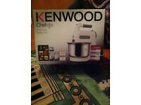 KENWOOD MIXER. 5 SPEED. (NEW NEW NEW.....BOXED)