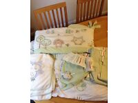 Olive and Henri Bedding/Curtains and Lampshade bundle