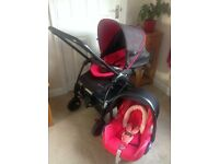 BARGAIN - Pram and Car Seat Hardly Used