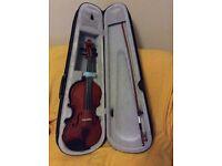 Small Violin With Case