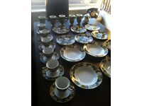 Vintage Waterside dinner set ideal for tea parties, fine dining, weddings and collectables