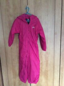 Girls Trespass All in One Snow/Rain Suit - New