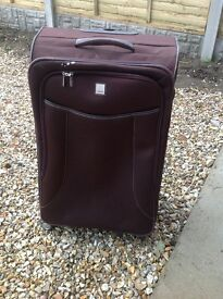 Tripp large soft suitcase 4 wheels little used, telescopic handle.