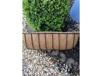 GARDEN WALL TROUGH PLANTER