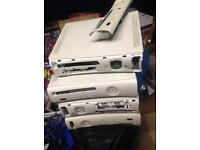 Xbox 360 Consoles - mixed condition