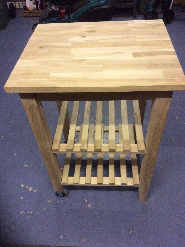 Pine kitchen island unit