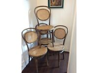 4 Lovely Bentwood Chairs