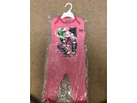 Converse All Star baby grow