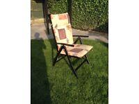 High Back Patio Chair CUSHIONS