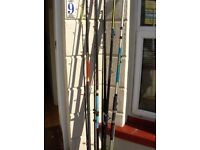 fishing, rods, reels. tripods. tackle new and used