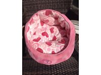 For Sale pink cat bed