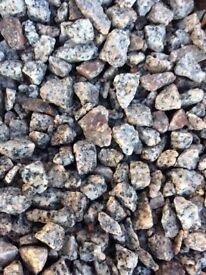 20 mm Dalbeattie granite garden and driveway chips/gravel/ stones