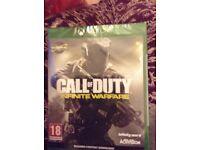 Call of duty Infiniti warfare brand new still sealed Xbox one