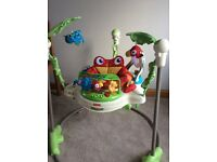 Rainforest jumperoo baby bouncer