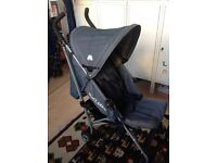 Maclaren Quest denim limited edition buggy