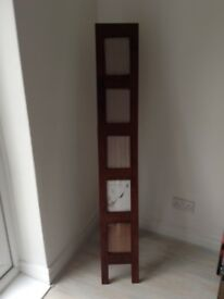 Mahogany standing picture frame