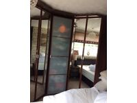 Ikea bedroom furniture ...wardrobes / bedside cabinets / double storage bed
