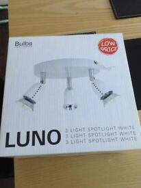 Brand new LUNO light fitting