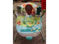 Baby bouncer/chair PRACTICALLY NEW!!