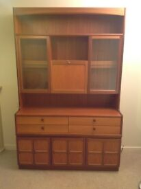 Nathan teak display cabinet