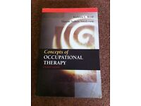 Concepts of Occupational Therapy (Fourth Edition) by Reed and Sanderson