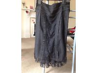 Black wiggle skirt size medium £10