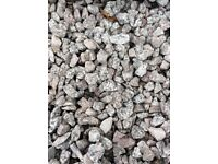 20 mm Dalbeattie granite garden and driveway chips/ gravel