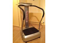 Vibra plate exercise machine, good as new