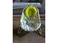 Mothercare baby bouncer seat