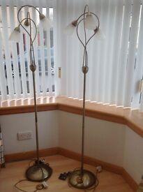 2x Floor Lamps