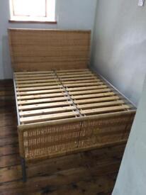 "Ikea double bed frame ""Dakka """