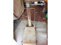 Cast Iron Potato Sack Scales