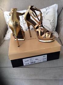 Kertgeiger Gold Shoes