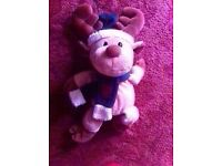 NEW Reindeer soft toy