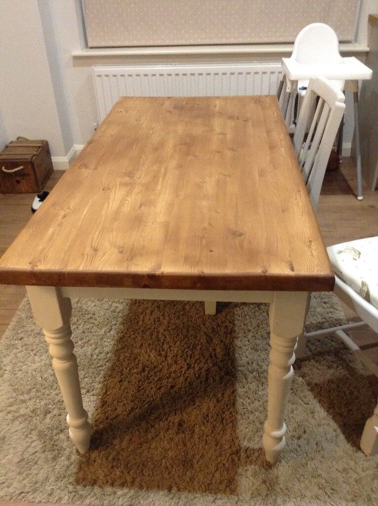 Pine Table And 2 Chairs First To See Will Buy
