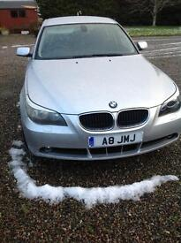 Bmw 520 I se auto black leather seats Bluetooth cruise control car immaculate 4 winter wheels inc
